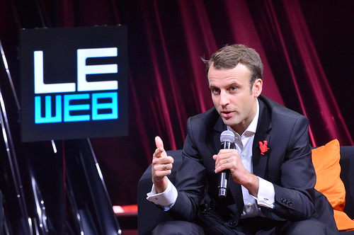 LEWEB 2014 - CONFERENCE - LEWEB TRENDS - IN CONVERSATION WITH EMMANUEL MACRON (FRENCH MINISTER FOR ECONOMY INDUSTRY AND DIGITAL AFFAIRS) - PULLMAN STAGE | by LeWeb14