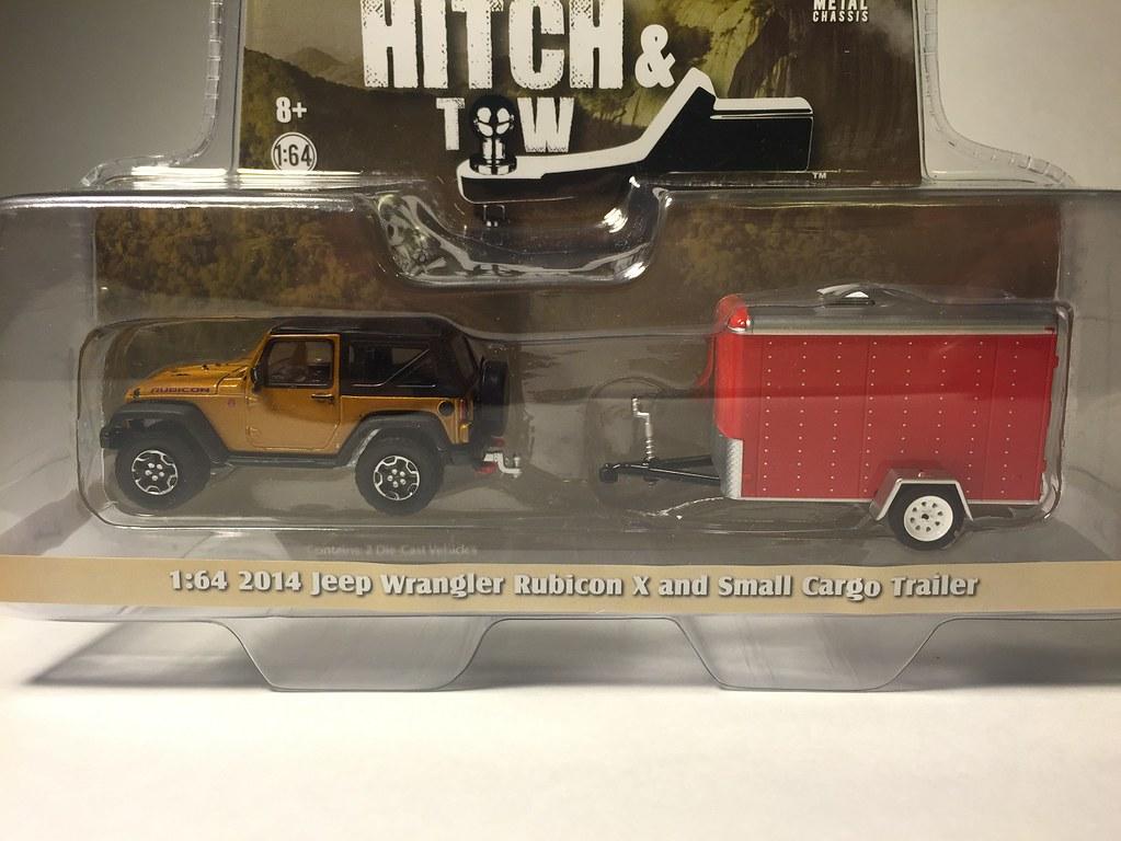 2014 Jeep Wrangler Rubicon X & Small Cargo Trailer   Flickr