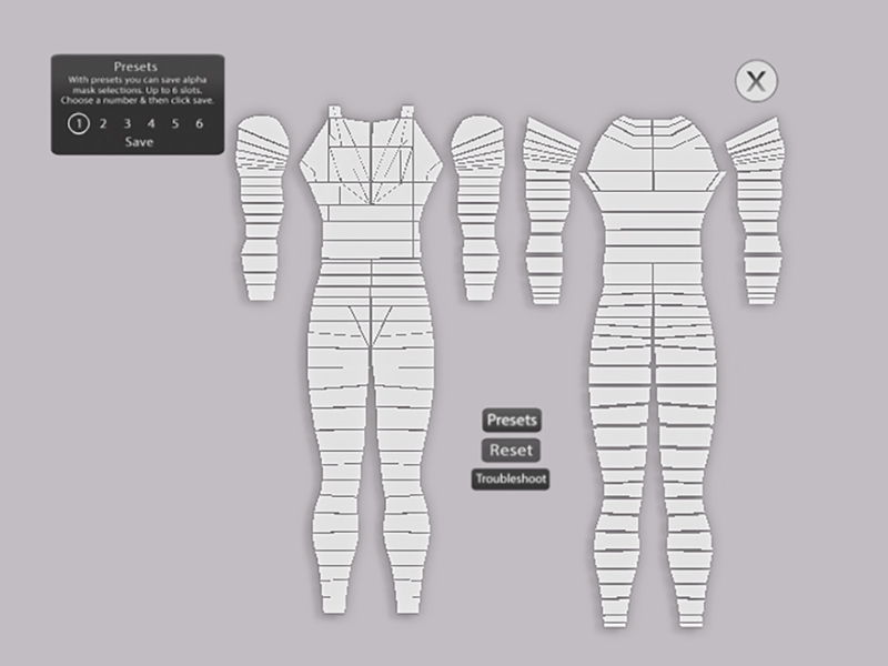 The Mesh Project Male Mesh Body Alpha HUD | I shared my thou