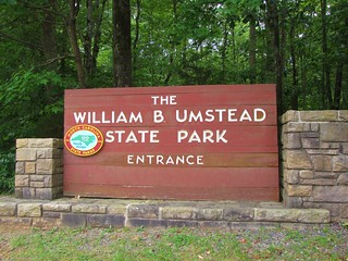 William B. Umstead State Park main entrance