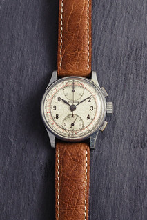 Vintage '40s Helbros chronograph watch #1 | by GuySie