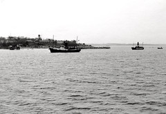 Lightships Seven Stones and Mid Barrow in front of Shotley Gate - 1968