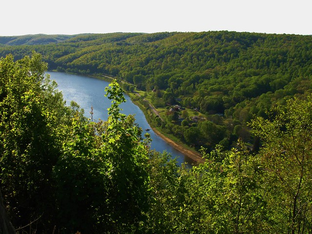 Narrows above Allegheny River Looking @ Armstrong County, Pennsylvania