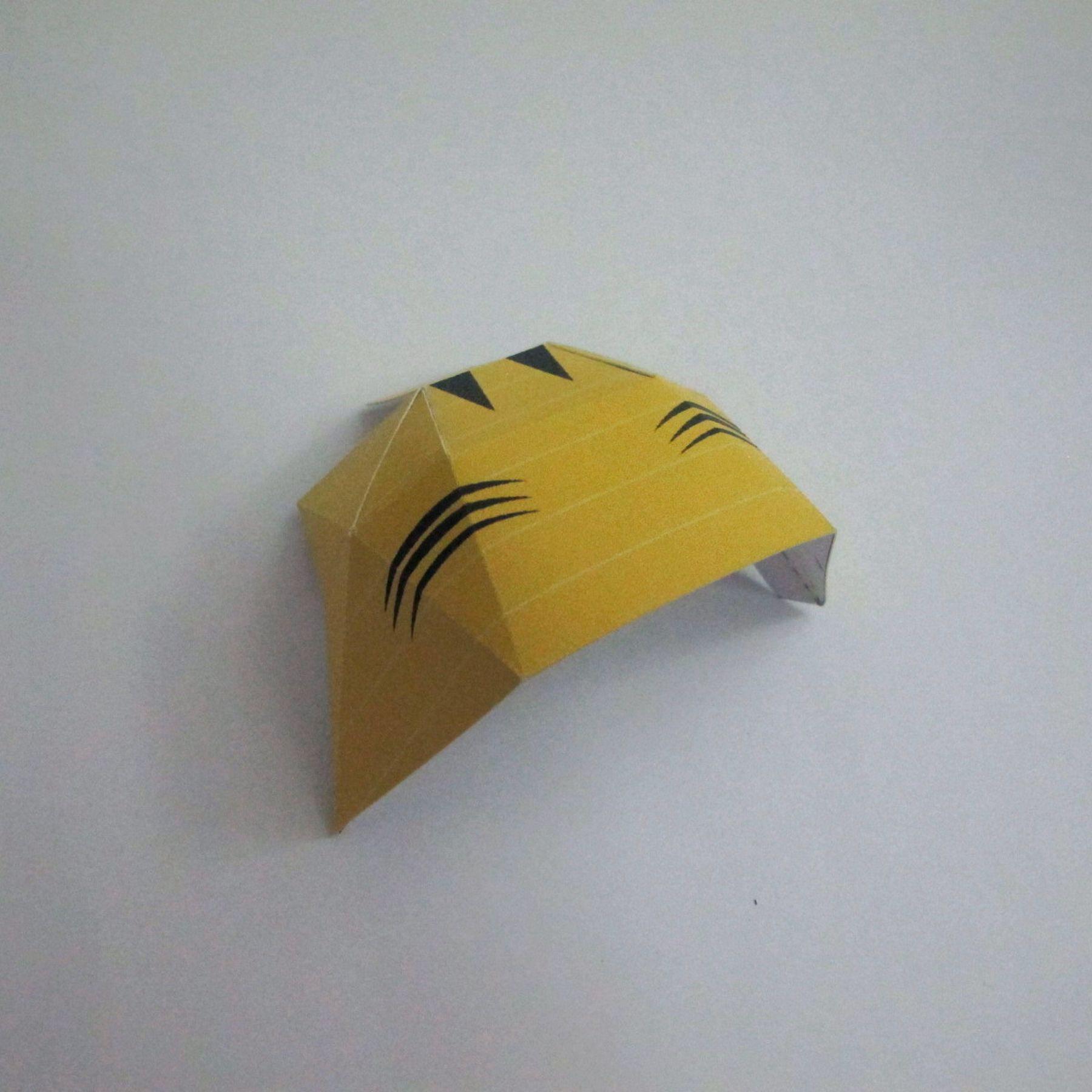 วิธีทำของเล่นโมเดลกระดาษ วูฟเวอรีน (Chibi Wolverine Papercraft Model) 024