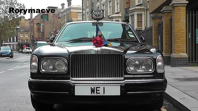 1998 Rolls Royce Silver Seraph (Mayor of Westminster)