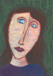 P6 Modigliani Self-Portrait | by amy_vaughan