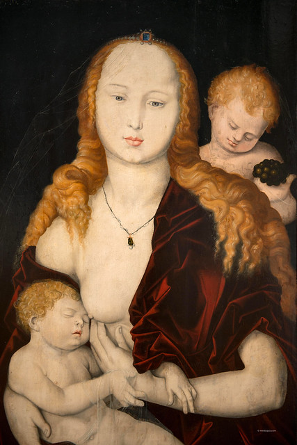 Virgin with Child and an Angel