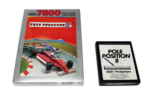 Atari 7800 - Pole Position | by TomBrazil100