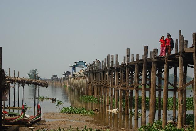 Birmanie Pont U Bein 10 2013