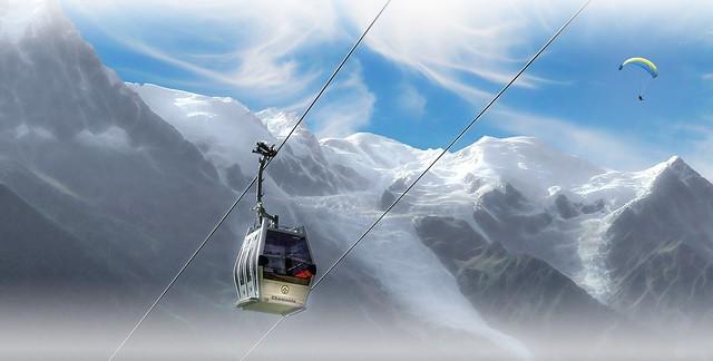 Prendre de l'altitude à Chamonix-Mont-Blanc