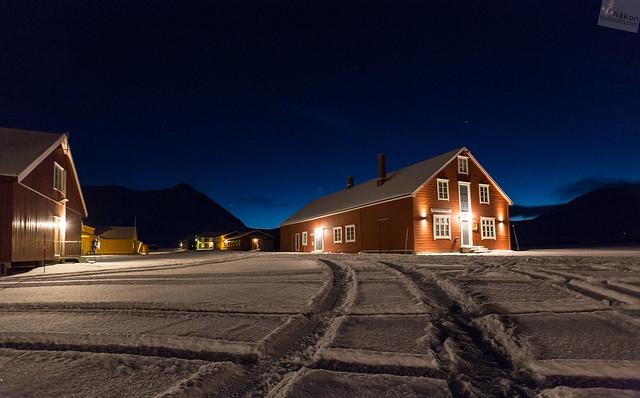 Blue Hour in Ny Ålesund