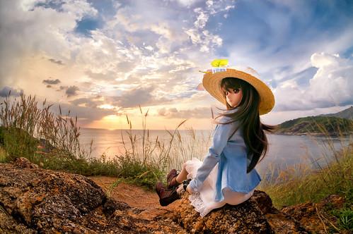 sunset summer sony fisheye remote ドール dd phuket hdr dollfiedream ドルフィードリーム nex6 dd如月千早