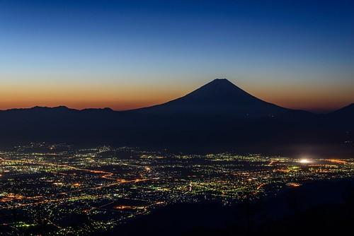 日本 fujisan 富士山 山梨県 韮崎市