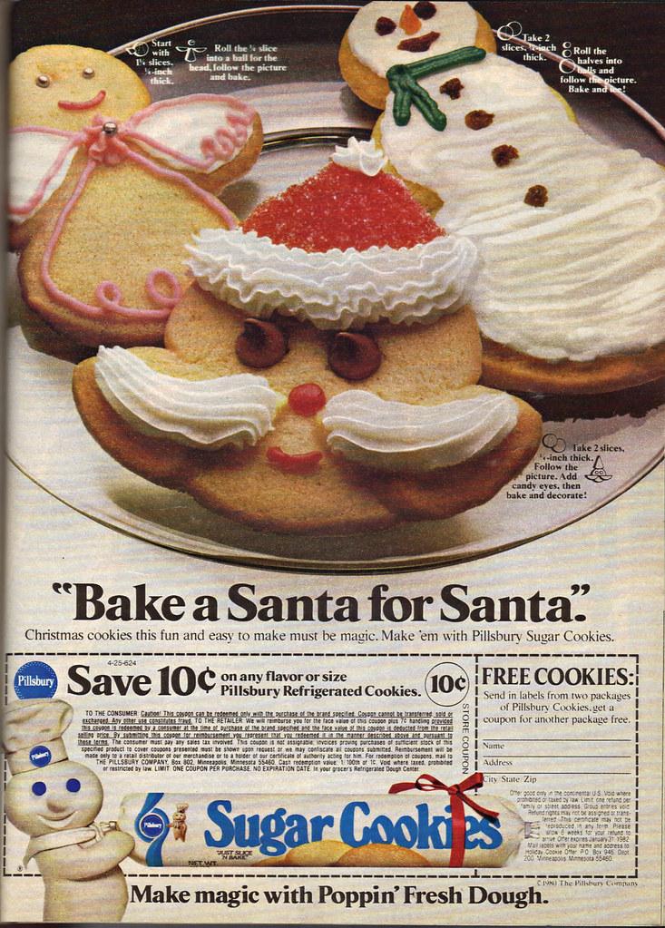 Pillsbury Bake A Santa For Santa 1980 View L Flickr