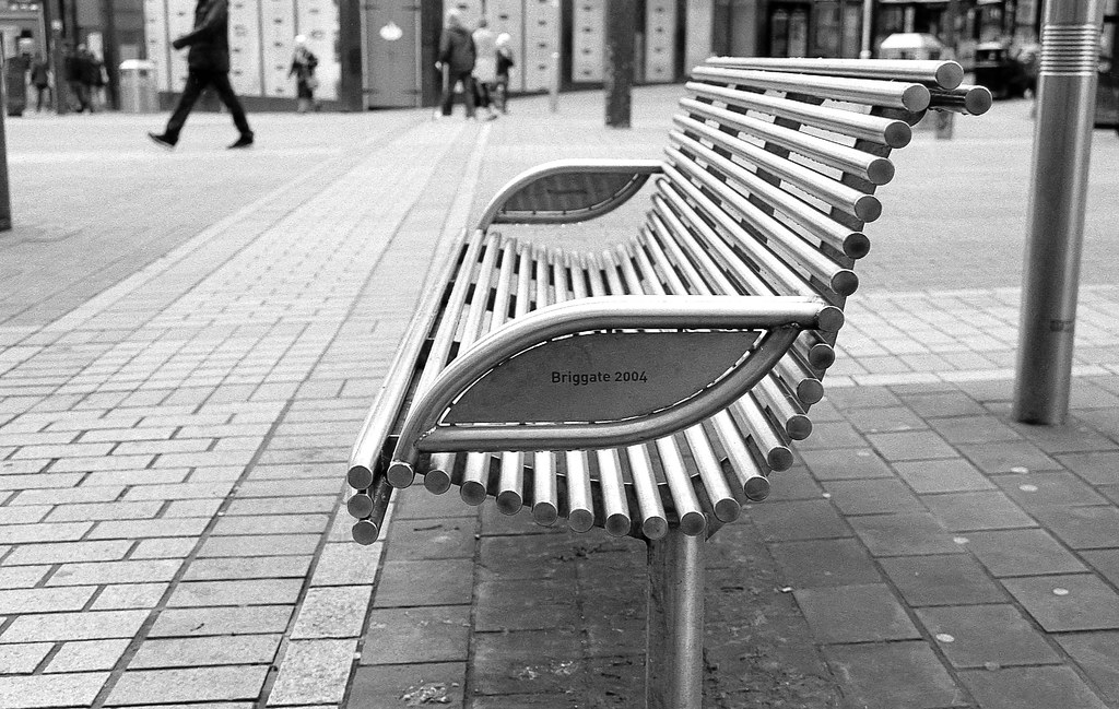 Street Seating, Briggate, Leeds