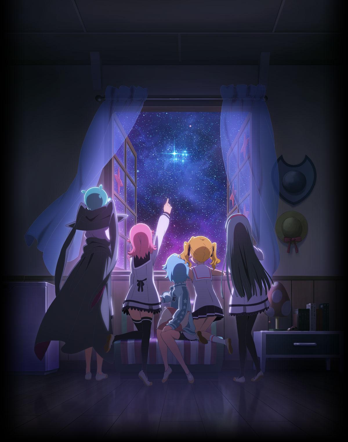 141217(1) - 闊別4年、「速霸陸×GAINAX」魔法少女動畫《放課後のプレアデス》將於明年春天放送!