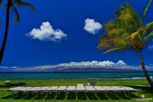 nature landscape outdoors island hawaii nikon bluewater scenic azure maui palmtrees pacificocean tropical softfocus fullframe fx d800 waterscape kaanapali papakearesort nikond800 afsnikkor1635mmf4gedvr