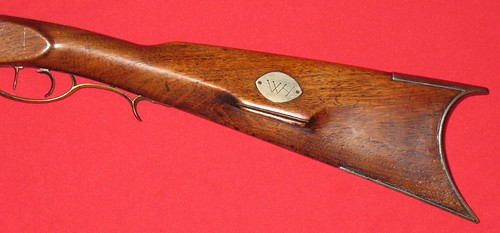 Washington Hatfield Rifle - Made in Owensburg, Indiana - Signature