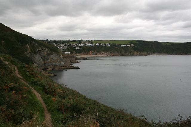Approaching Gorran Haven
