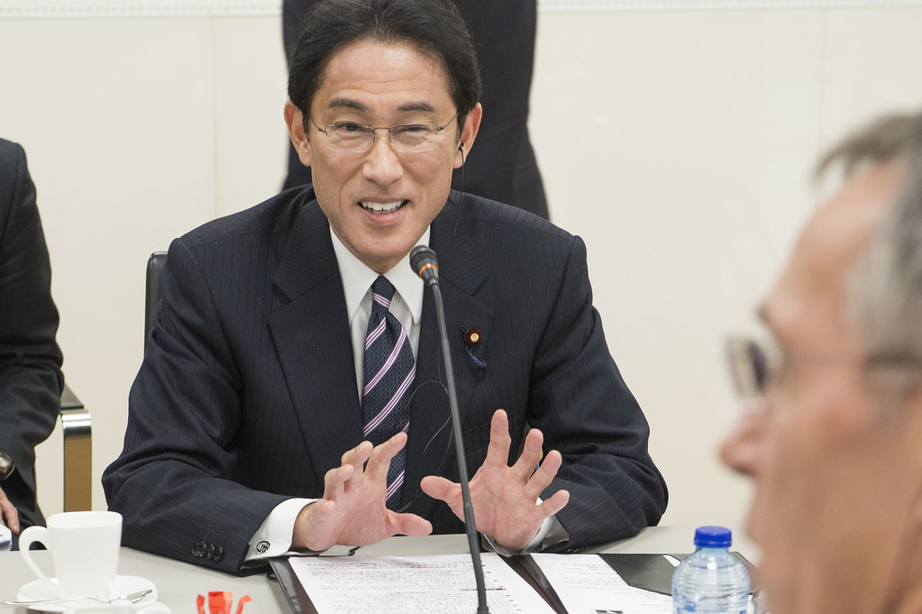 Visit to NATO by the Minister of Foreign Affairs of Japan