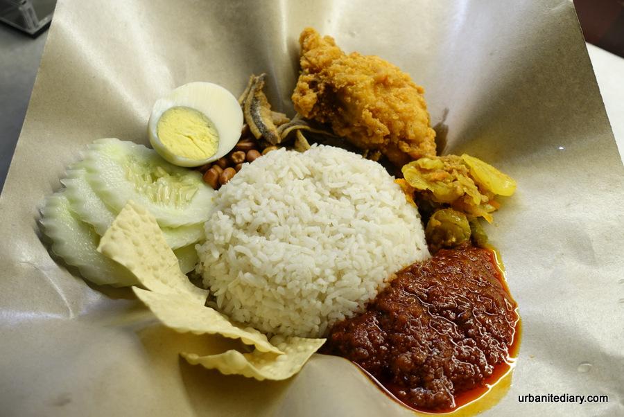 Street Food: Nasi Lemak