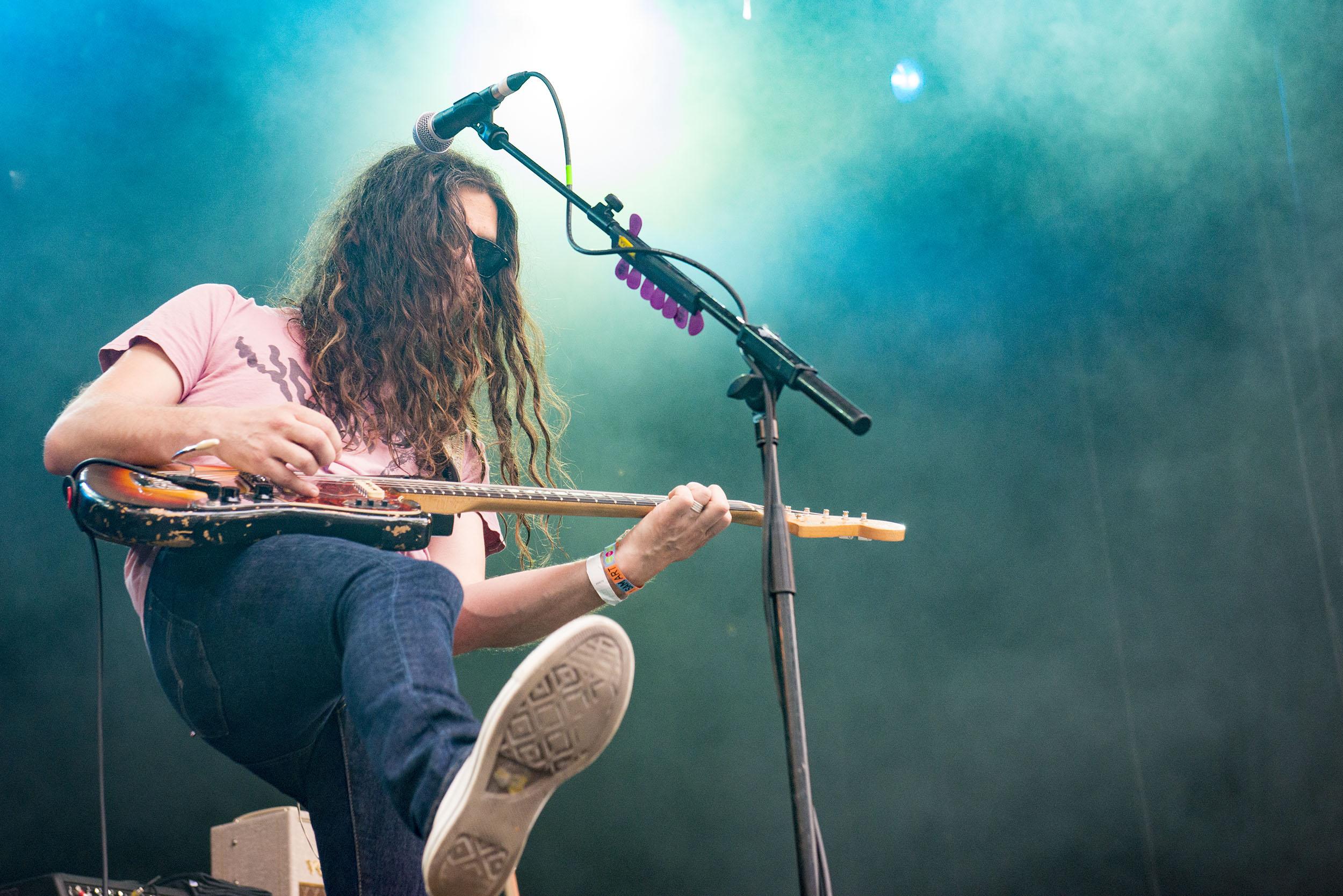 Kurt Vile & The Violators @ Cactusfestival 2016 (© Nick De Baerdemaeker)