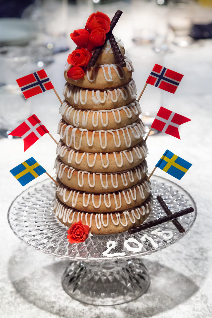 Have A Piece Kransekage Nytår 2015 Homemade Traditional Flickr