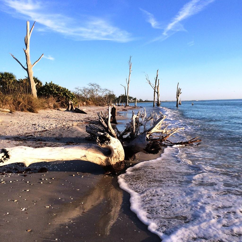 Stump Pass Beach State Park, Manasota Key, Englewood, Fla ...