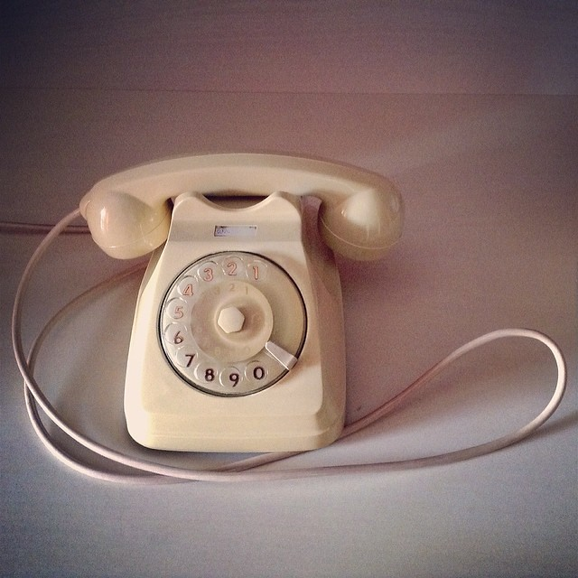The life line. #WHPtelephone #oldphone #oldphones...