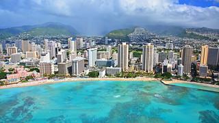 Waikiki Hawaii From The Air | by Edmund Garman