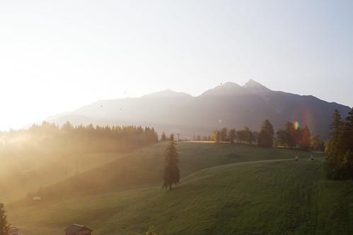morning alps june backlight sunrise austria seefeld ef100mmf28macrousm eos6d