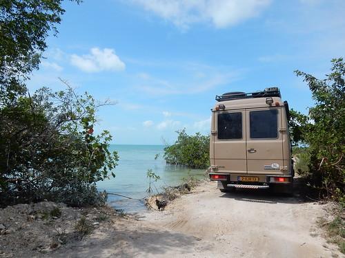 Sarteneja - heel dicht langs het water