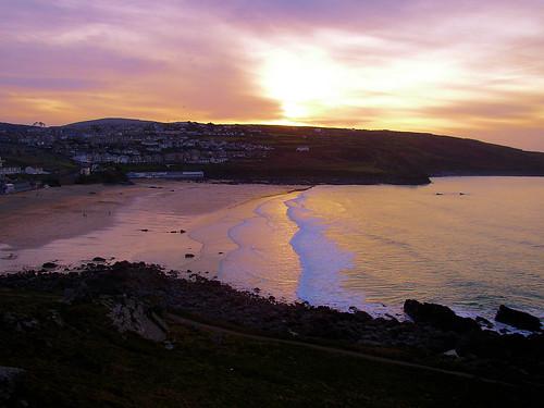St Ives coast