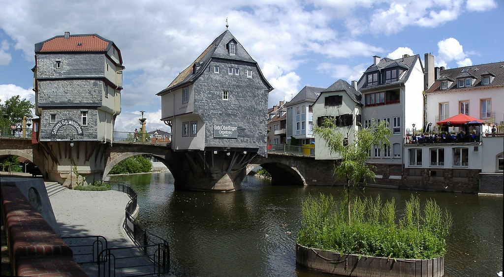 Bad-Kreuznach: Alte Nahebrücke