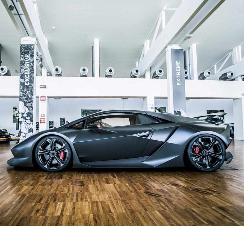 Car Cars Lambo Lamborghini Egoista Concept Conceptc Flickr