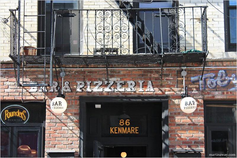 Pizzeria in Little Italy.