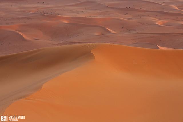 Saudi Arabia - Mixture Of Golden Sands