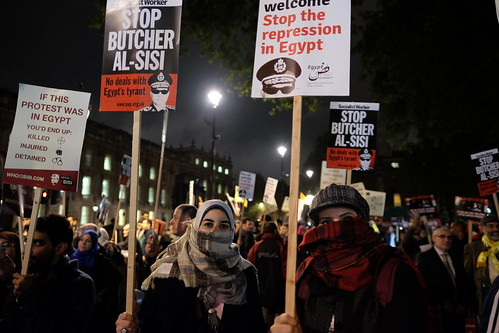 Stop the repression in Egypt - Stop Sisi's visit to London. | by alisdare1