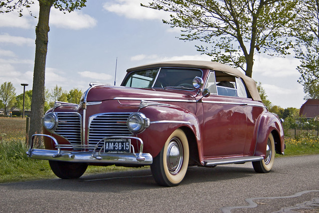 Dodge Luxury Liner Custom Series D19 Convertible Coupé 1941 (2687)