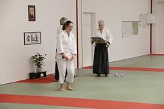 Training und Ehrung Roland Ott 6. DAN