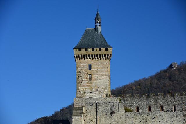 Château de Foix,  Ariège, Languedoc-Roussillon, France, January 2017 766