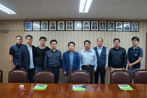圖09.本會代表團參訪韓國FKTU國際勞工教育中心會議