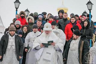 Литургия в Иверском монастыре 560