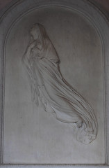 Eliza Charlotte, Baroness Rendlesham, rises to heaven