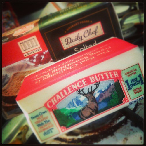 Not sure how many sticks of butter to use in perfecting my Acme brownie recipe.  #challengebutter #butter vs #dailychef help! Cc @altonbrown | by ACME-Nollmeyer