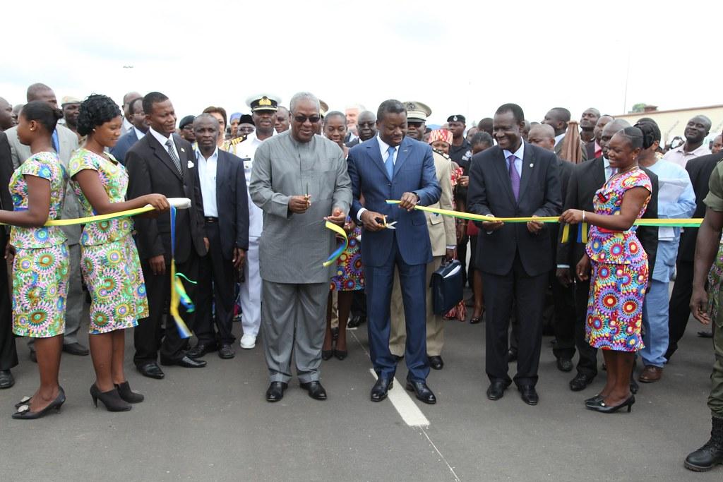 President John Mahama of Ghana and President Faure Gnassin…   Flickr