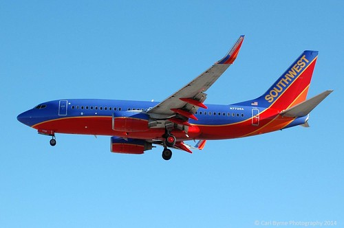 N7726A Boeing 737-7BD(WL) of Southwest Airlines | by Mervbhx