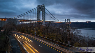 Winter George Washington Bridge | by CiclismoNY