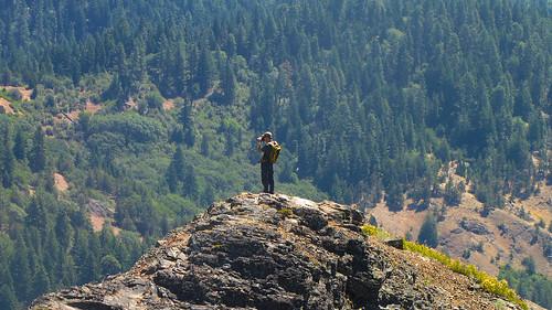 Climbing Pilot Rock   by BLMOregon