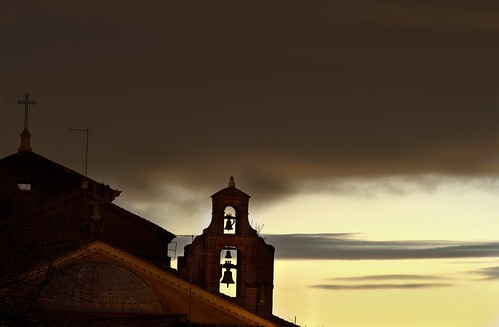 santa sunset italy rome roma clouds bells evening nikon italia tramonto dusk maria della turret hdr drago crepuscolo consolazione qtpfsgui mantiuk06 reinhard05 hdrpro d5100